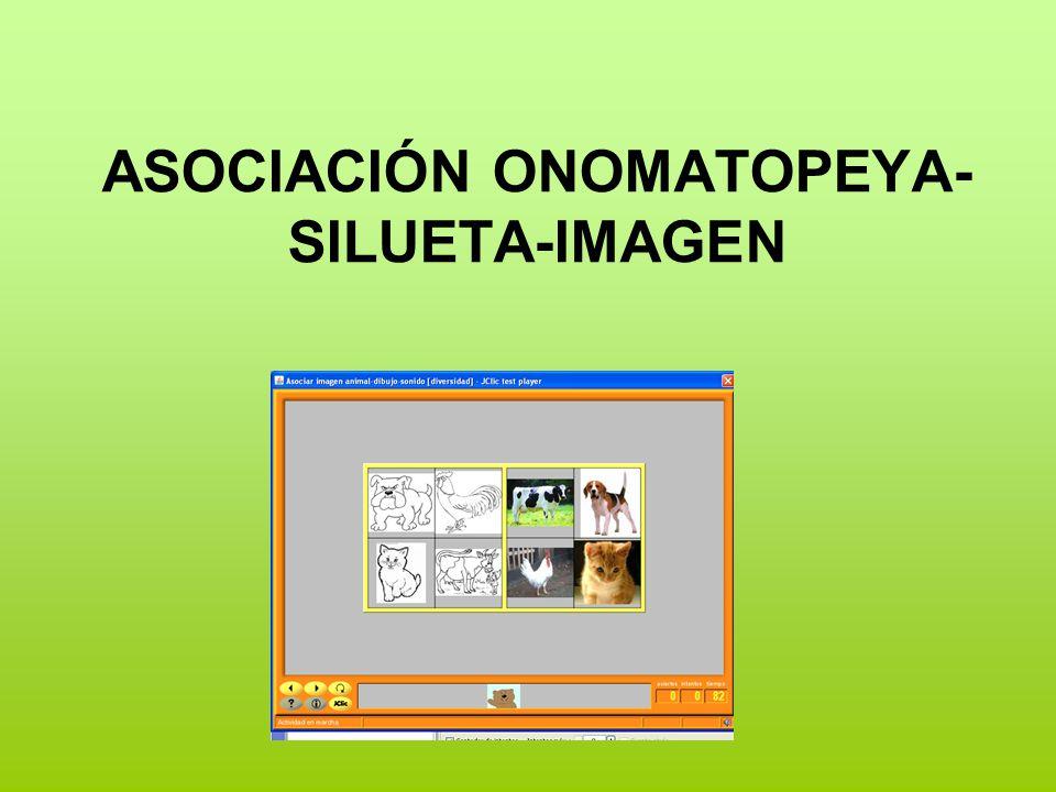 ASOCIACIÓN ONOMATOPEYA- SILUETA-IMAGEN
