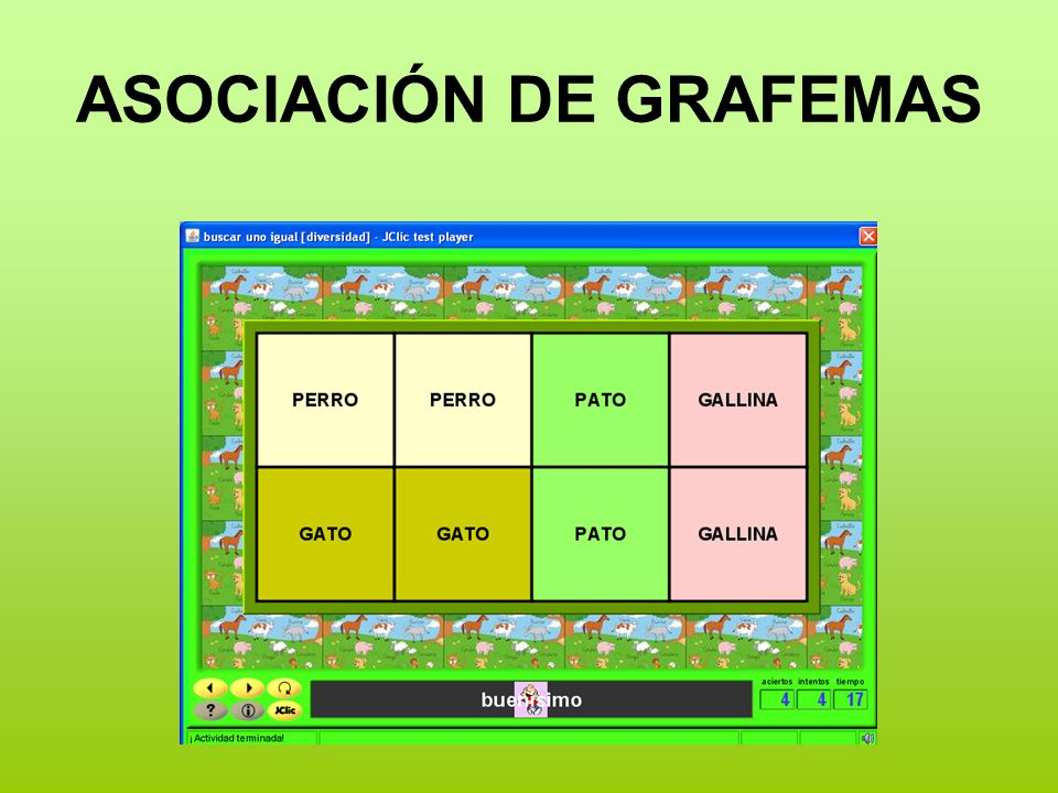 ASOCIACIÓN DE GRAFEMAS