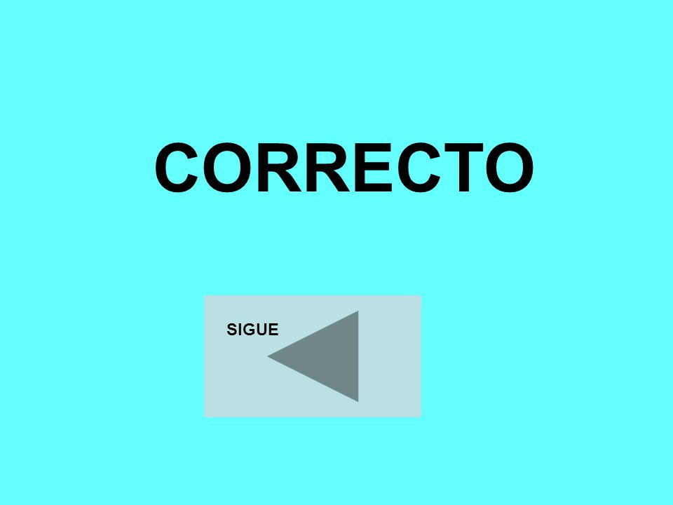 CORRECTO SIGUE