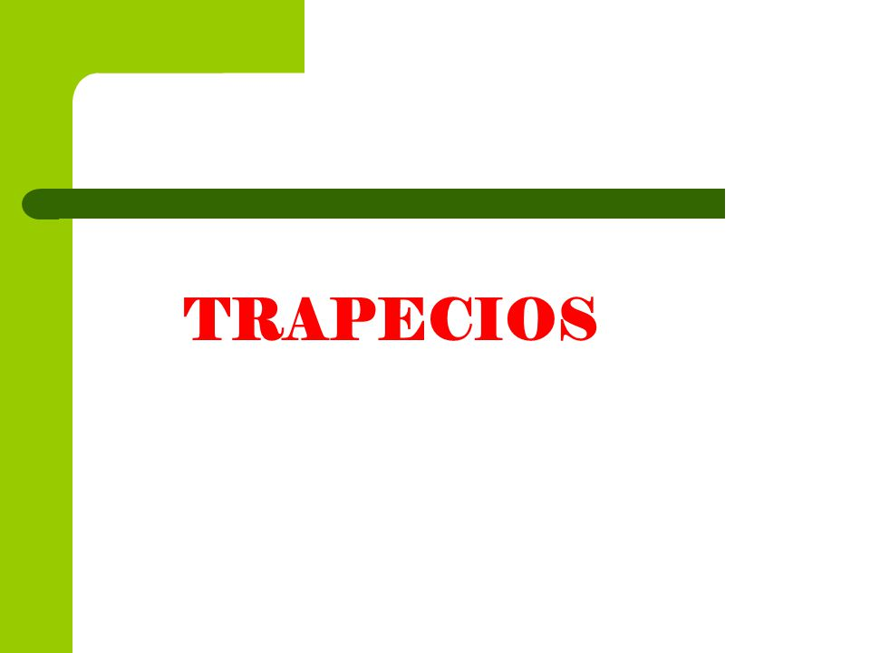 TRAPECIOS