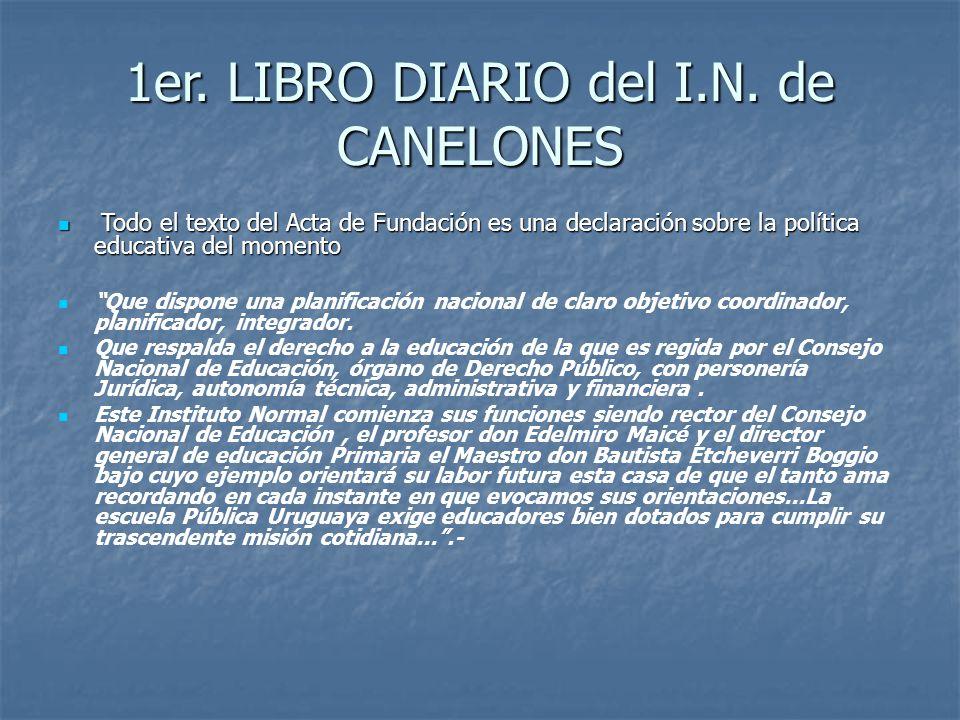 1er.LIBRO DIARIO del I.N.