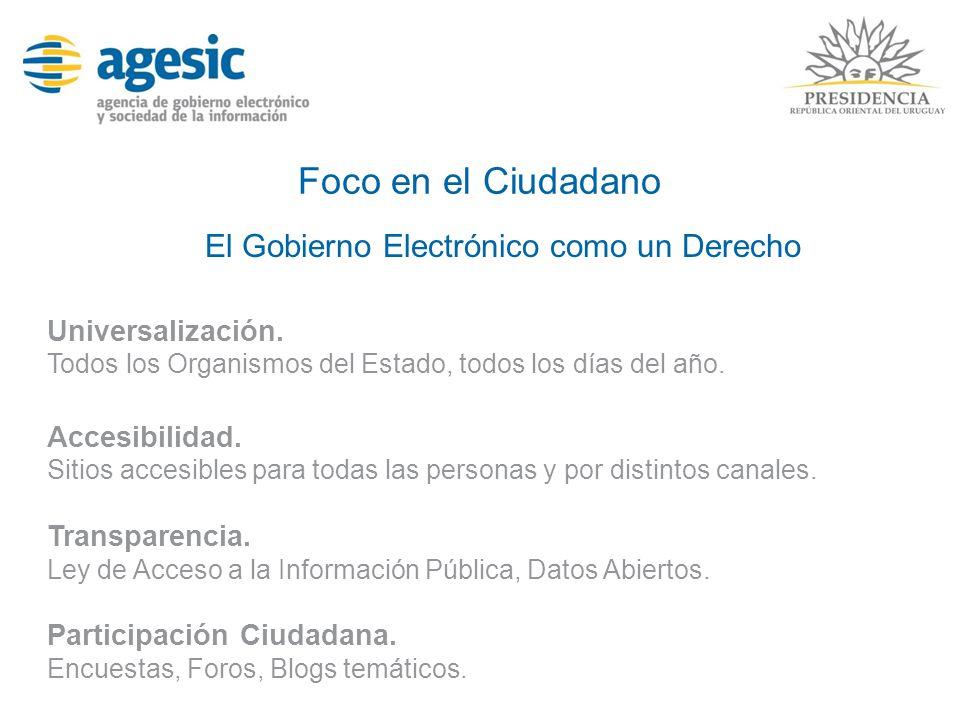 Objetivos en Gobierno Electrónico Disponer de soluciones TIC confiables y efectivas en costo/beneficio Extensión Plan Ceibal.