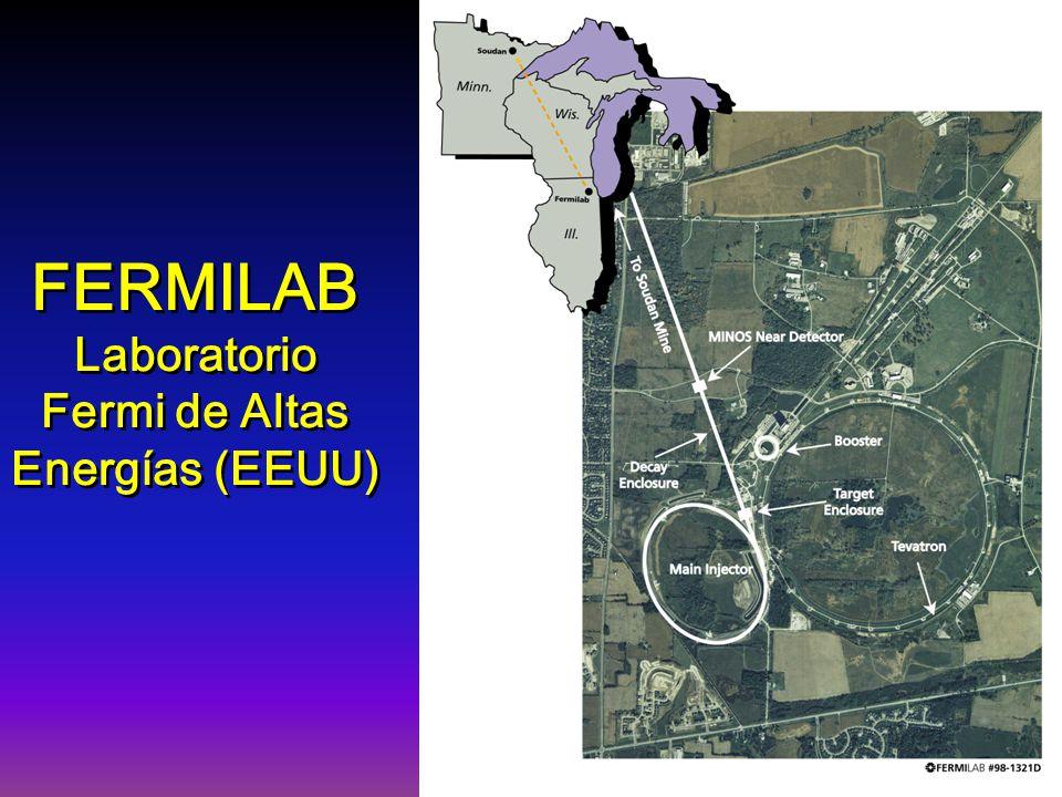 FERMILAB Laboratorio Fermi de Altas Energías (EEUU) FERMILAB Laboratorio Fermi de Altas Energías (EEUU)