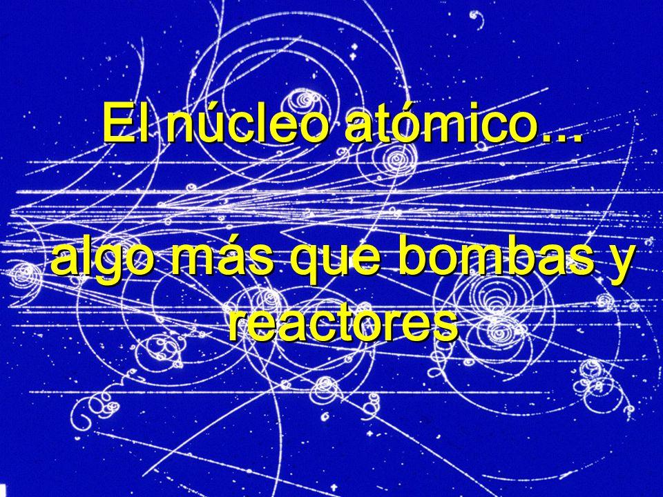 LOS COMIENZOS El descubrimiento de la radiactividad y el estudio de las emisiones, radiactivas brindó a los físicos la herramienta que necesitaban para sondear el interior del átomo