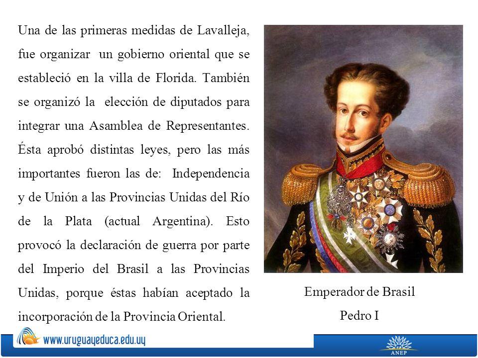 Una de las primeras medidas de Lavalleja, fue organizar un gobierno oriental que se estableció en la villa de Florida. También se organizó la elección