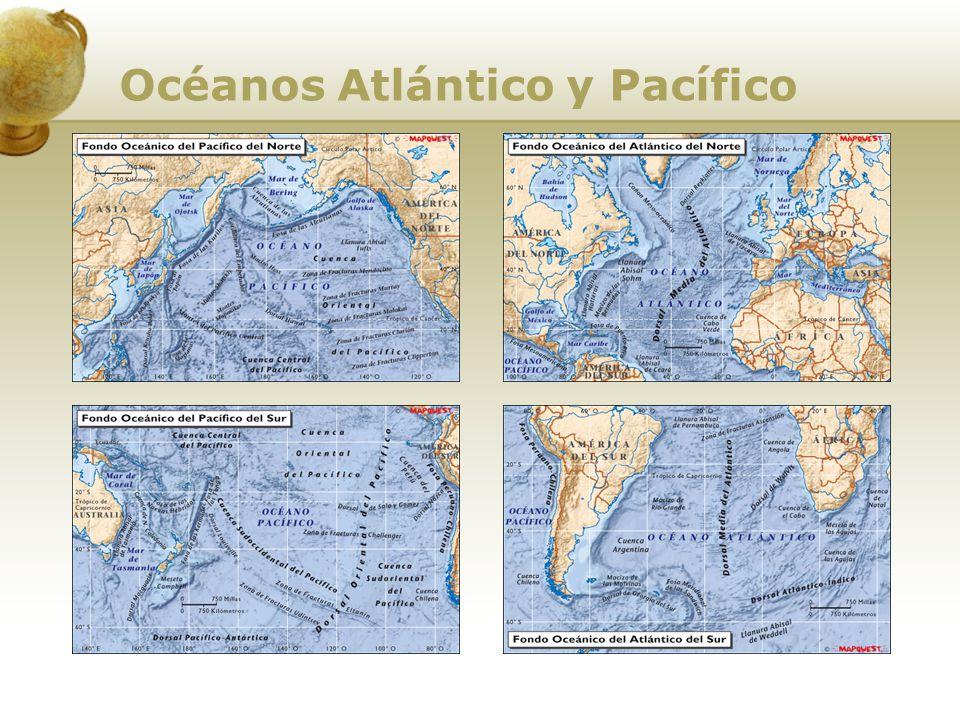 Los ríos americanos y su función integradora Las grandes cuencas hidrográficas Las grandes cuencas hidrográficas La mayor parte de los ríos corren en dirección al Atlántico, siendo escasos de poco caudal los que desembocan en el Pacífico.