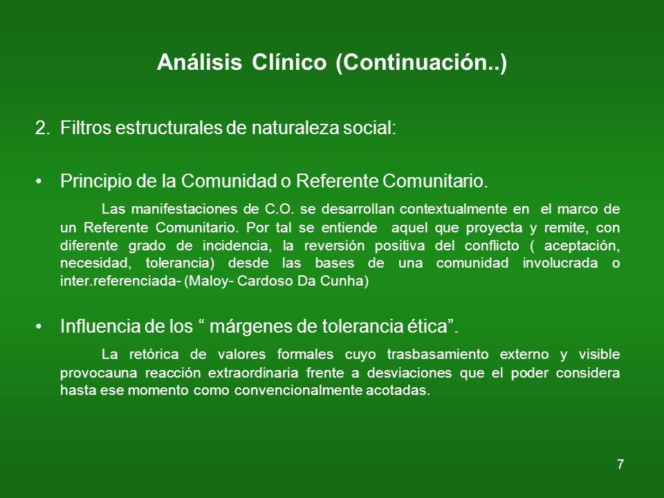 8 Análisis Clínico (Continuación) 3.