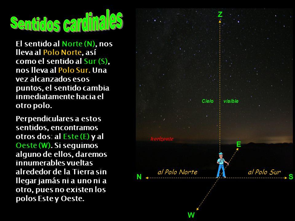 Observadores situados en una misma latitud, verán el mismo cielo, aunque no todos al mismo tiempo debido al Movimiento General Diario.