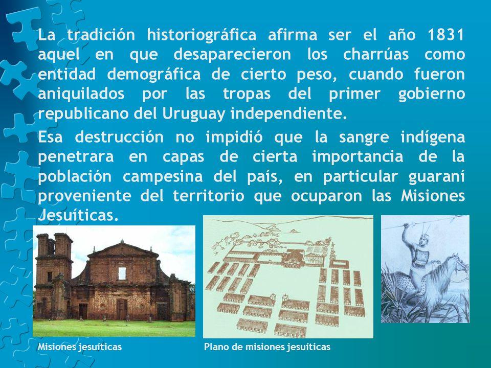 La Banda Oriental, designación que los españoles dieron al territorio uruguayo, fue una región de colonización tardía, contemporánea de la España de los Borbones en el siglo XVIII.
