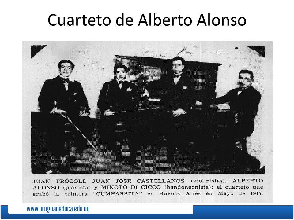 Cuarteto de Alberto Alonso