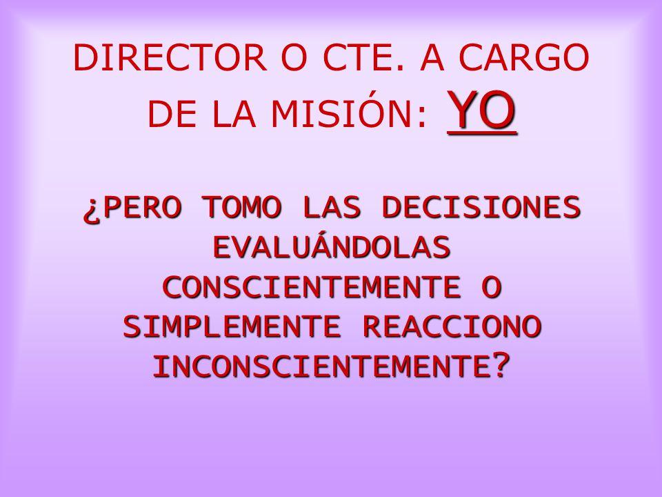 DIRECTOR O CTE.