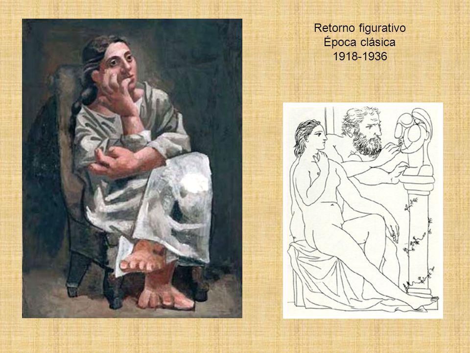 Retorno figurativo Época clásica 1918-1936