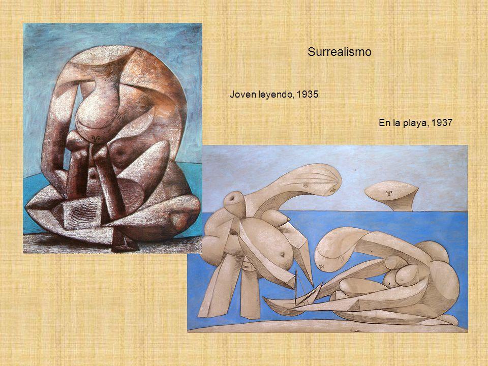 Surrealismo Joven leyendo, 1935 En la playa, 1937
