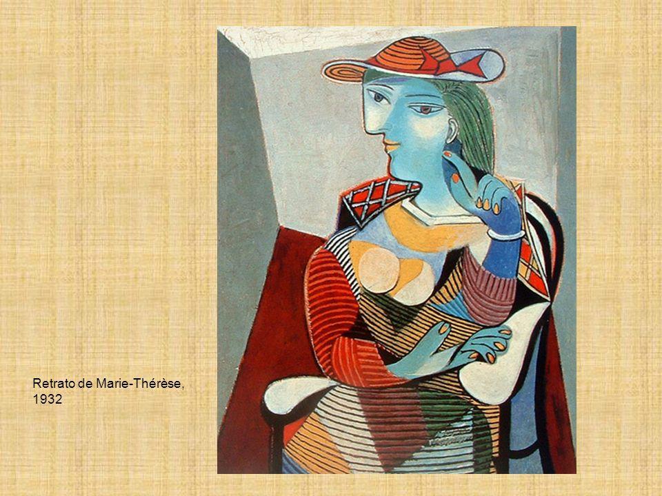 Retrato de Marie-Thérèse, 1932