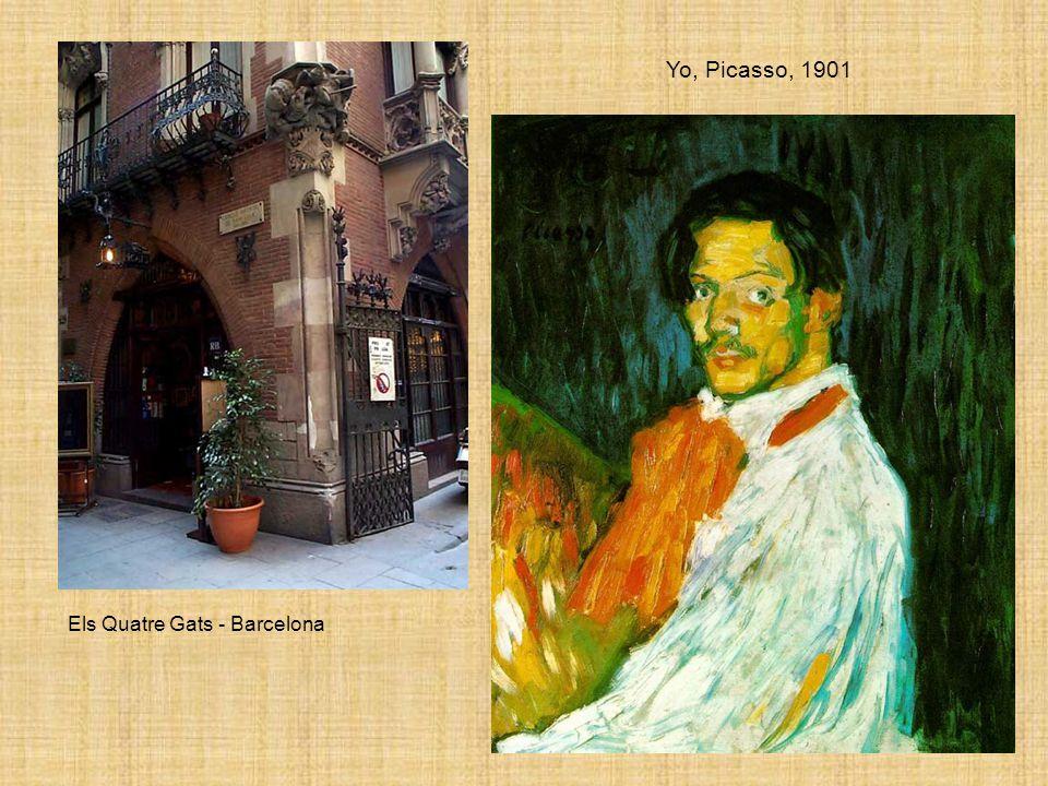 Els Quatre Gats - Barcelona Yo, Picasso, 1901