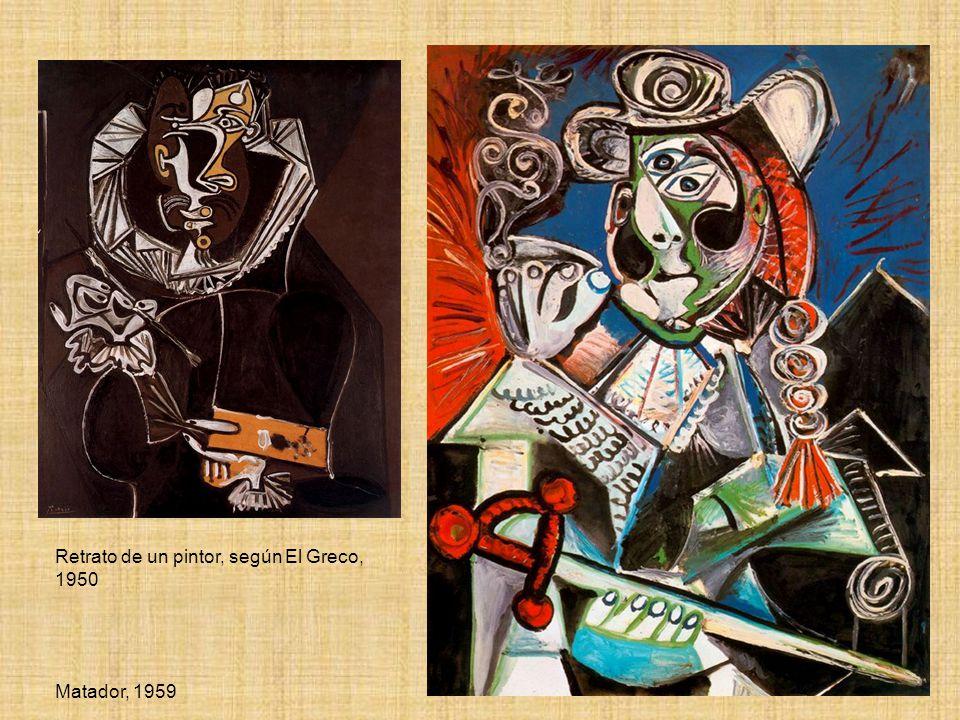 Retrato de un pintor, según El Greco, 1950 Matador, 1959