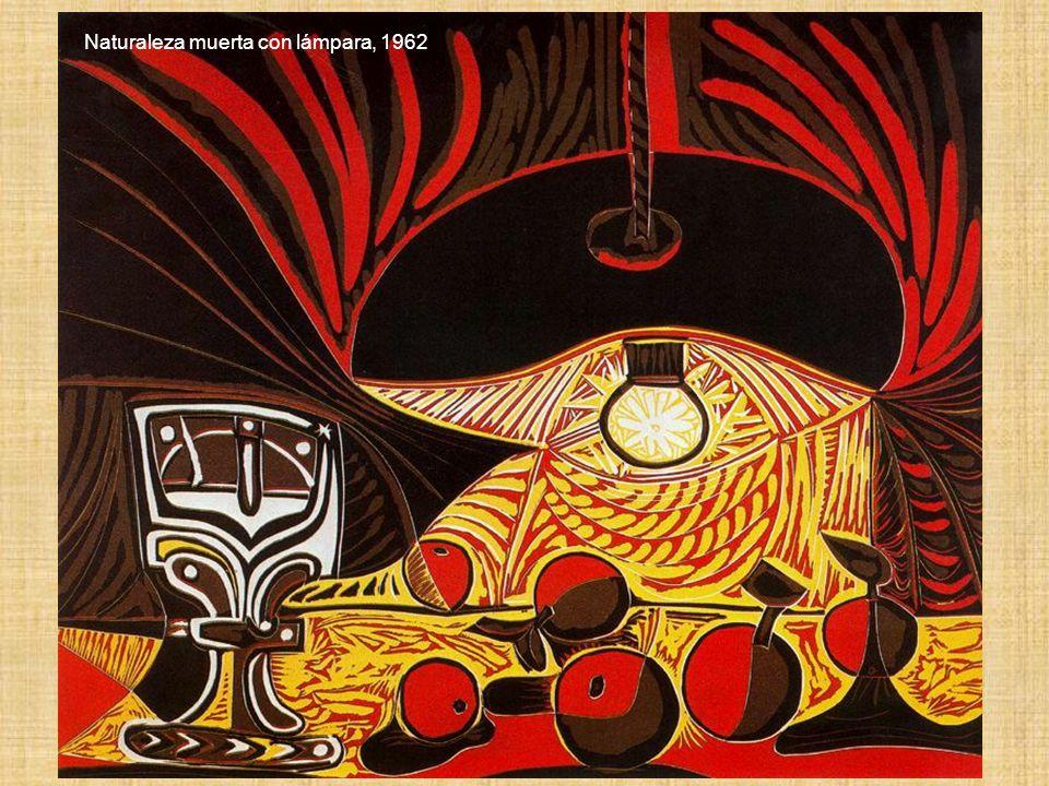 Naturaleza muerta con lámpara, 1962