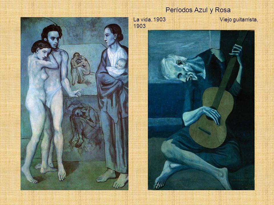 Períodos Azul y Rosa La vida, 1903 Viejo guitarrista, 1903
