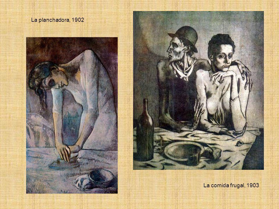 La planchadora, 1902 La comida frugal, 1903