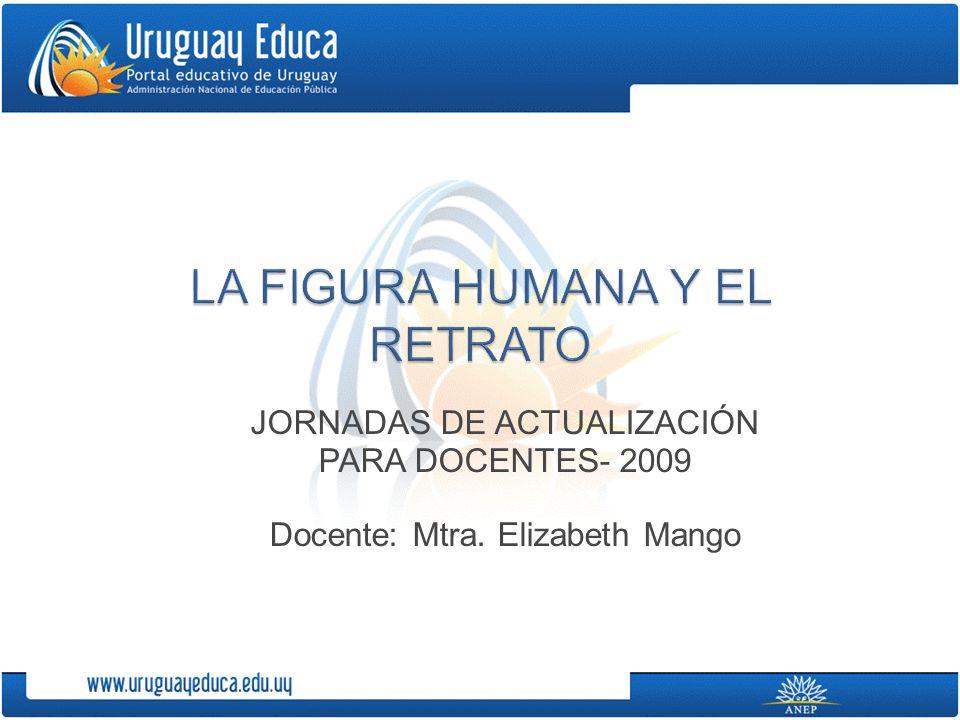 JORNADAS DE ACTUALIZACIÓN PARA DOCENTES- 2009 Docente: Mtra. Elizabeth Mango