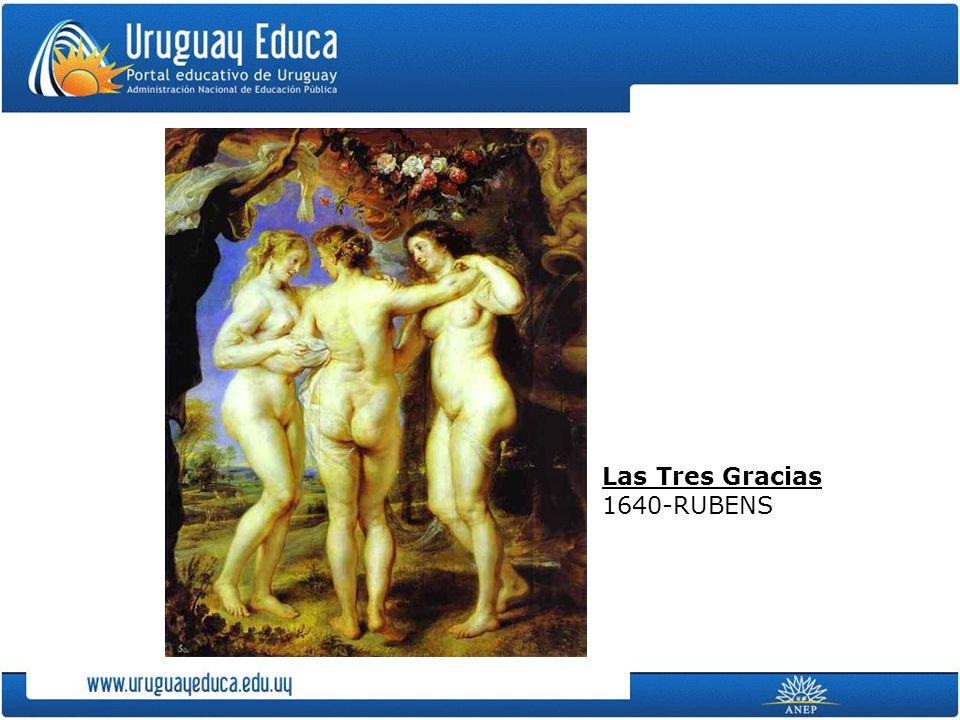 Las Tres Gracias 1640-RUBENS