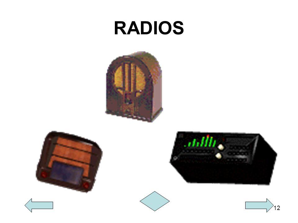 12 RADIOS