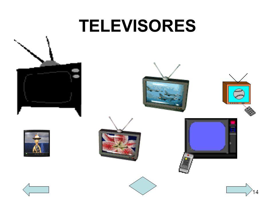 14 TELEVISORES