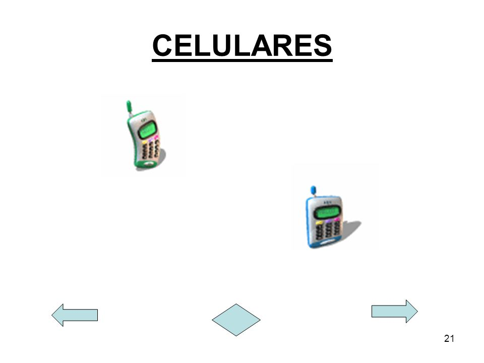 21 CELULARES