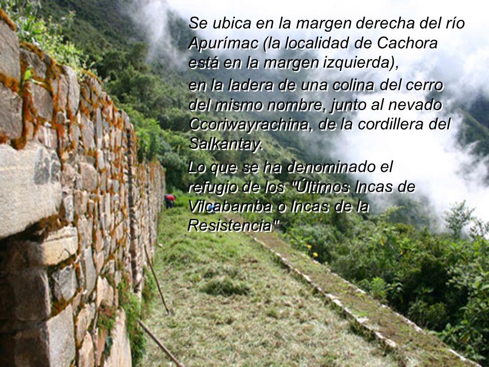 Choquequirao ha sido llamada la hermana sagrada de Machu Picchu. Choquequirao ha sido llamada la hermana sagrada de Machu Picchu. Por las impresionant