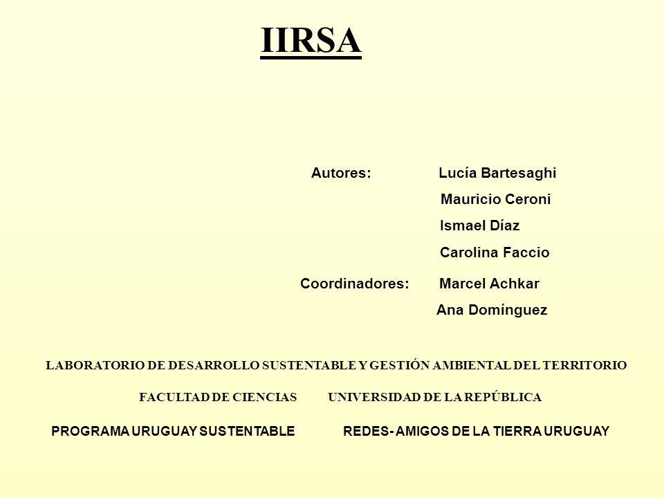 OBJETIVO GENERAL Determinar los alcances territoriales de la Integración de la Infraestructura Regional Sudamericana (IIRSA).
