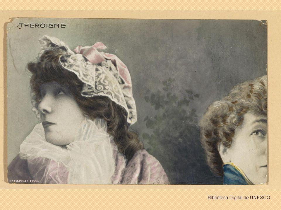 Sara Bernhardt como Cleopatra