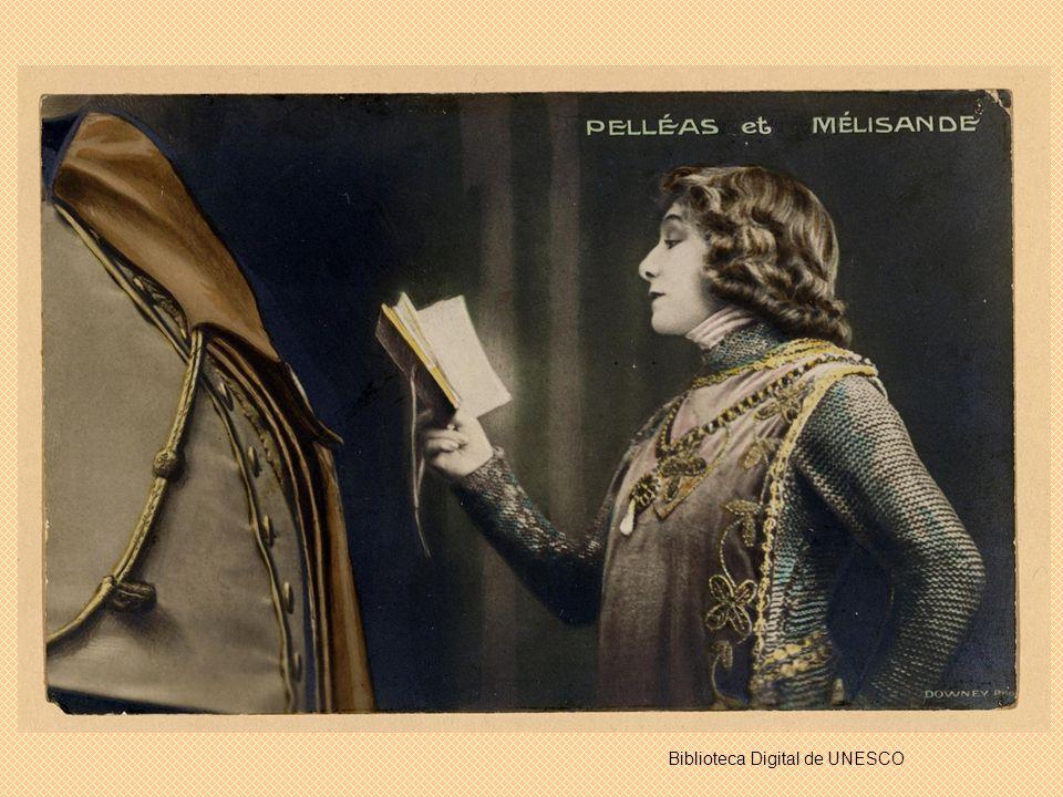 Sarah Bernhardt por Alfonse Mucha