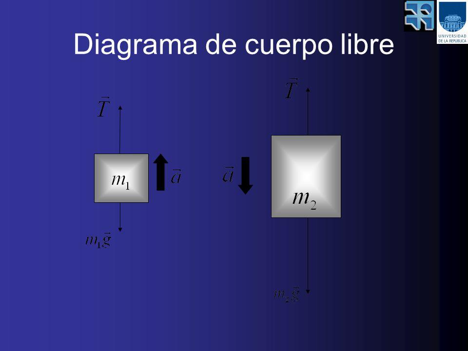 Pendiente de recta experimental= aceleración=6,3m/s Pendiente de recta teórica= aceleración