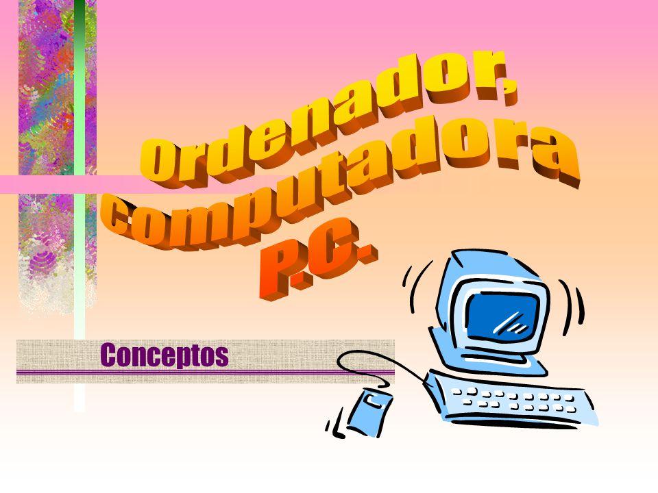 Ingreso de datos Salida de datos Procesado de la información Almacenamiento de la información ETAPAS DEL PROCESADO DE LA INFORMACIÓN EN EL ORDENADOR