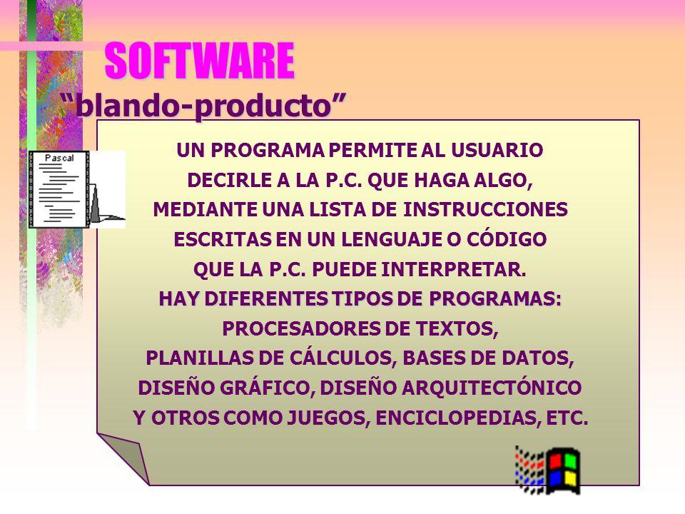 C) Dispositivos de Salida: Sirven para poder ver o mostrar los resultados en el procesado de la información.