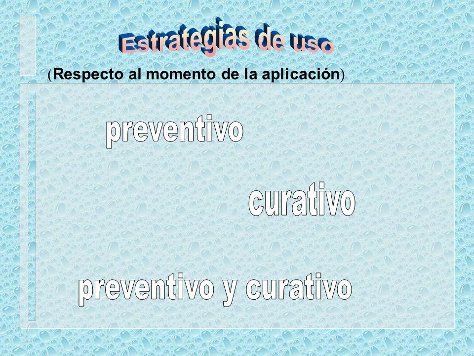 Desarrollo de la sarna del manzano lluvia infecciónsíntomas 9 horas10 a 15 días Prevenir Curar o erradicar Sin síntomasCon síntomas MANEJO Fuente: Mon