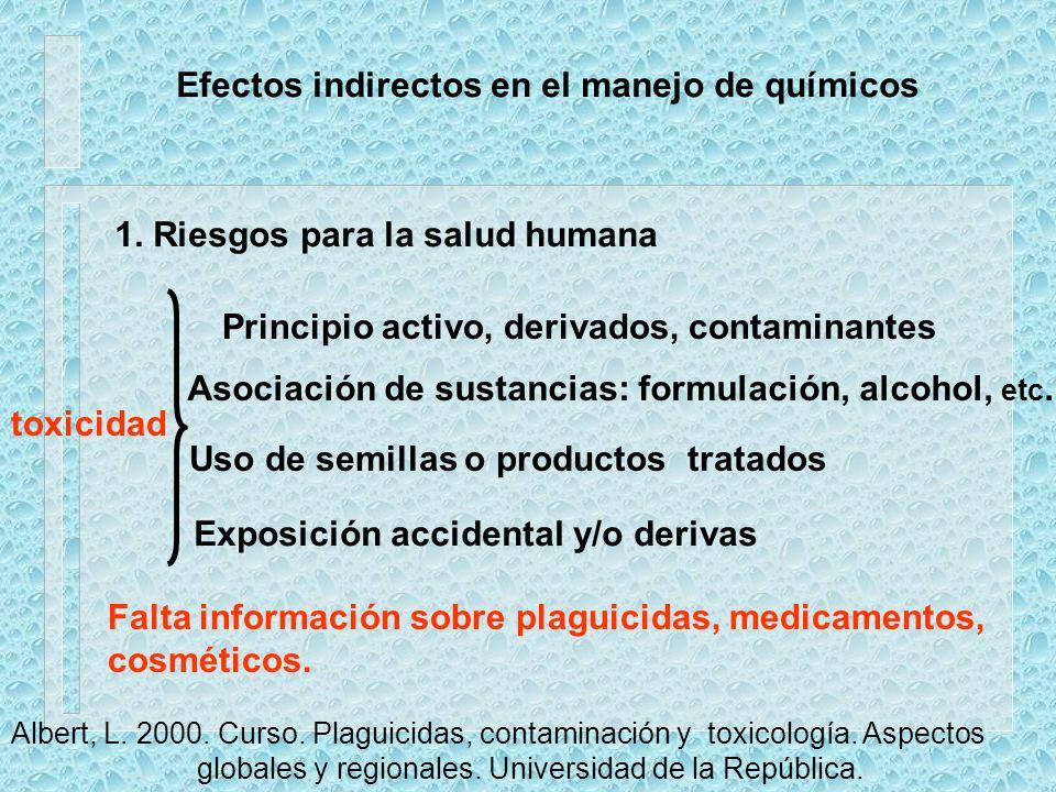 Dosis Concentración del producto comercial en la aplicación Depósito inicial Redistribución