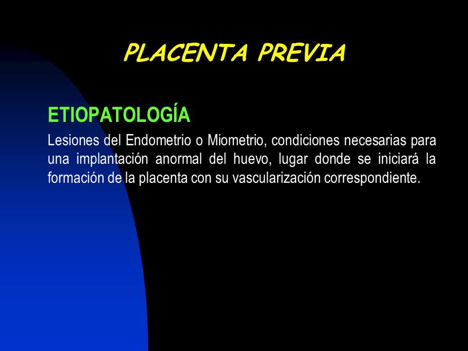 FACTORES DE RIESGO Antecedente de placenta previa.adjusted OR 9.7.