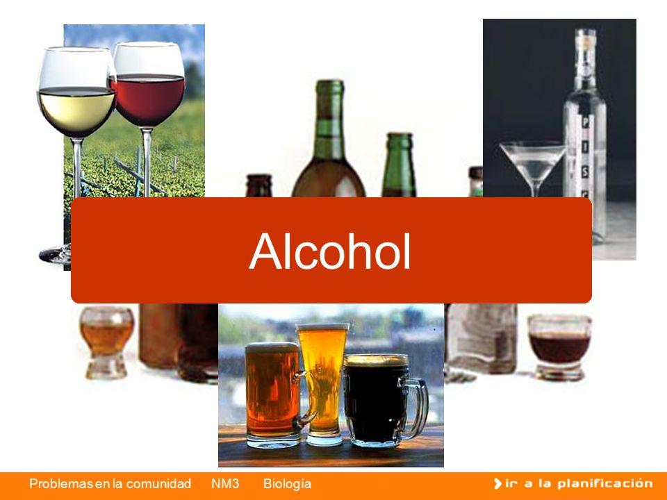 Problemas en la comunidad NM3 Biología Alcohol