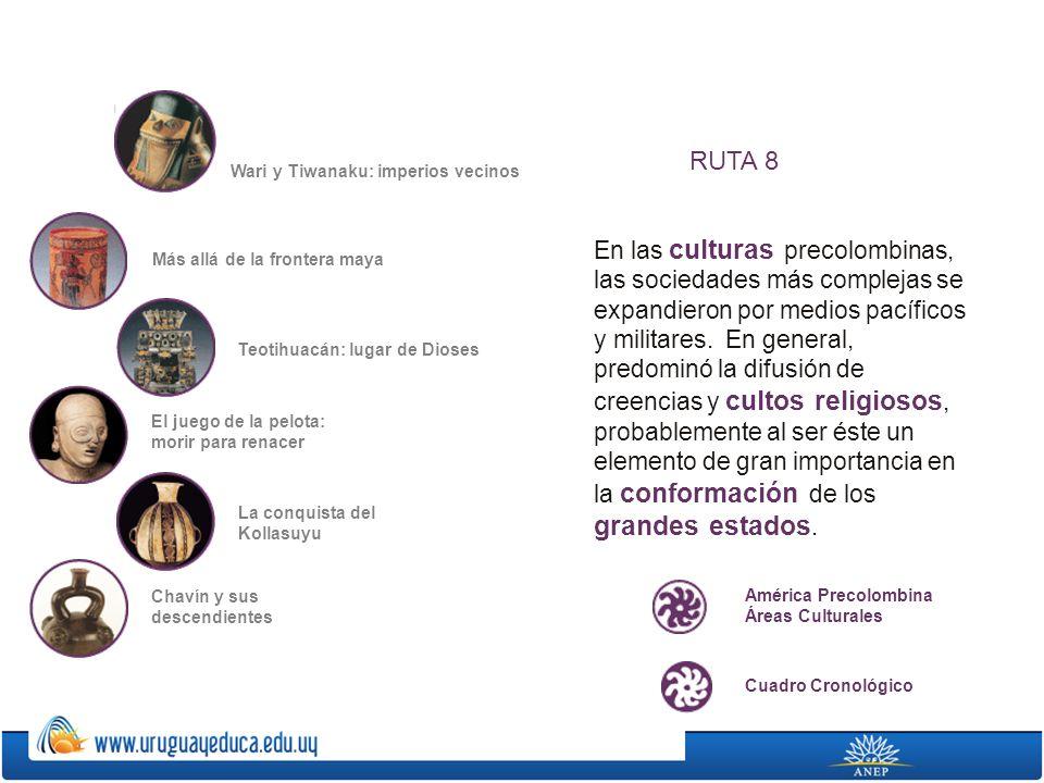 En las culturas precolombinas, las sociedades más complejas se expandieron por medios pacíficos y militares. En general, predominó la difusión de cree