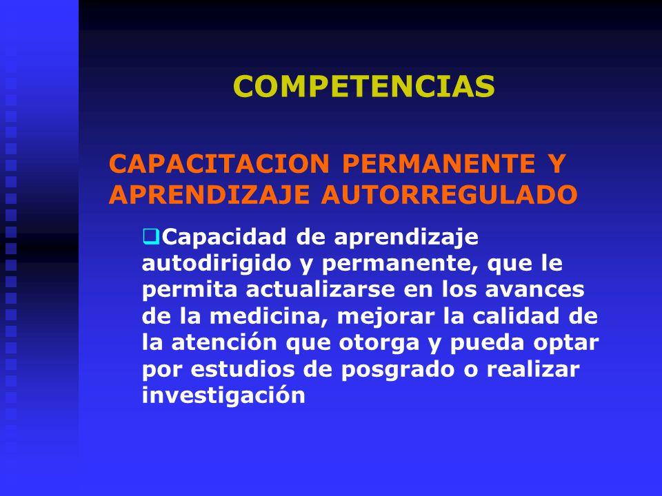 MANEJO DE LA INFORMACIÓN Capacidad para la conocimientos en forma crítica, de nuevos biomédicos y tecnológicos, para investigar el proceso salud/enfermedad.