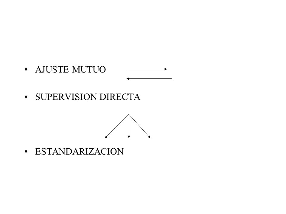AJUSTE MUTUO SUPERVISION DIRECTA ESTANDARIZACION