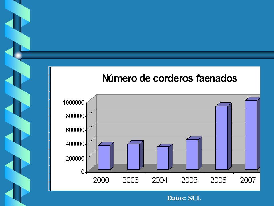 EXPORTACIONES Brasil 7.100 ton.P.E.Brasil 7.100 ton.P.E. Asia 6.500 ton.P.E.Asia 6.500 ton.P.E. –Jordania, Arabia Saudi, China U.E. 3.800 ton.P.E.U.E.