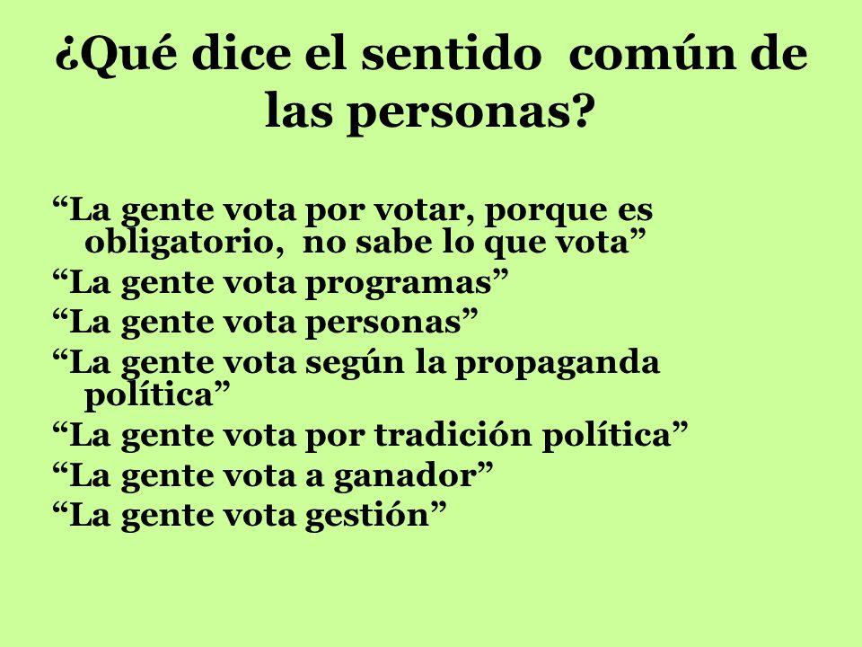 Modelos para comprender el comportamiento electoral: ¿Por qué las personas votan de una manera y no de otra? Jorge Arévalo