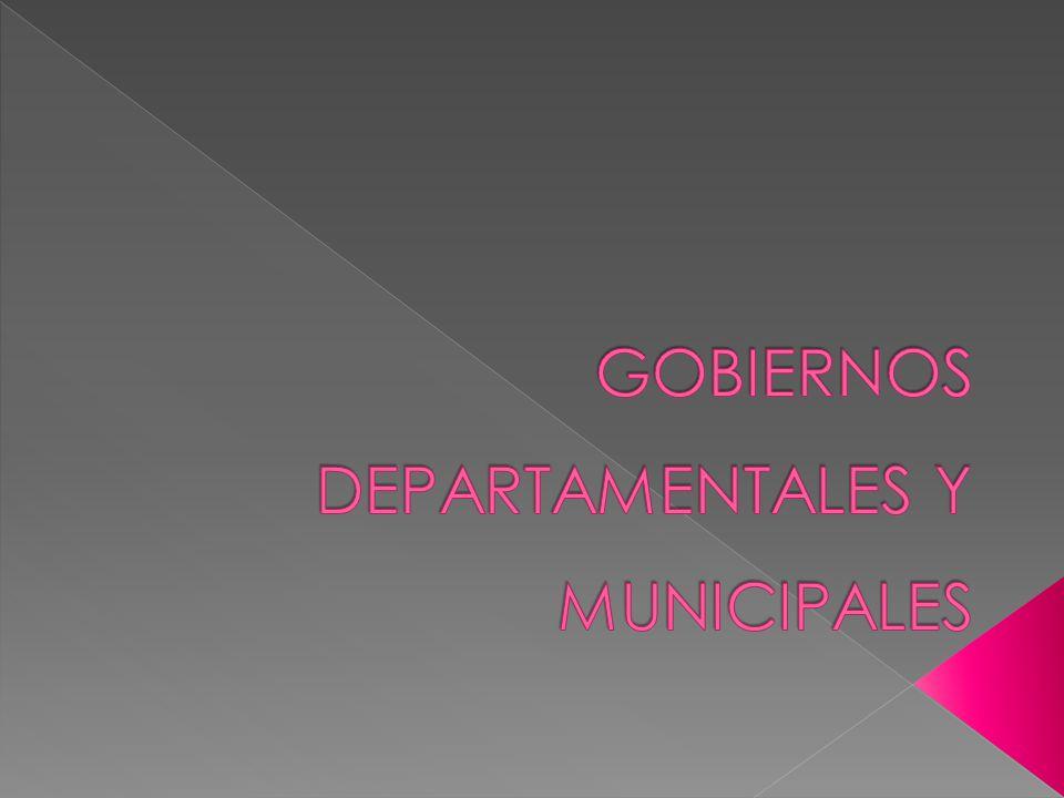 El gobierno y la administración de los Departamentos, con excepción de los servicios de seguridad pública, estarán a cargo de una Junta Departamental y un Intendente.