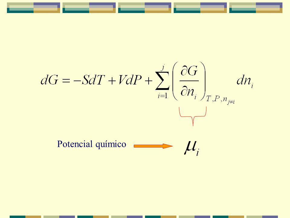 Las ecuaciones de Gibbs deducidas no se pueden aplicar en sistemas abiertos ni en procesos irreversibles como una reacción química. Si la composición