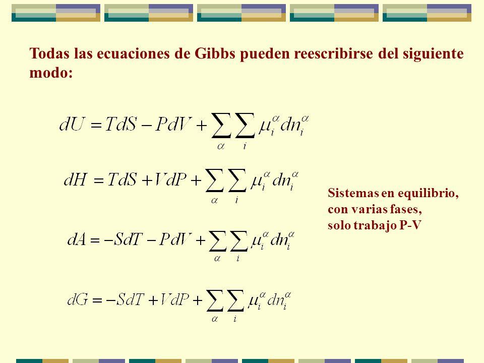 Si el sistema está constituido por varias fases, en cada una de ellas se puede asignar un valor a las propiedades extensivas, de forma que el valor to