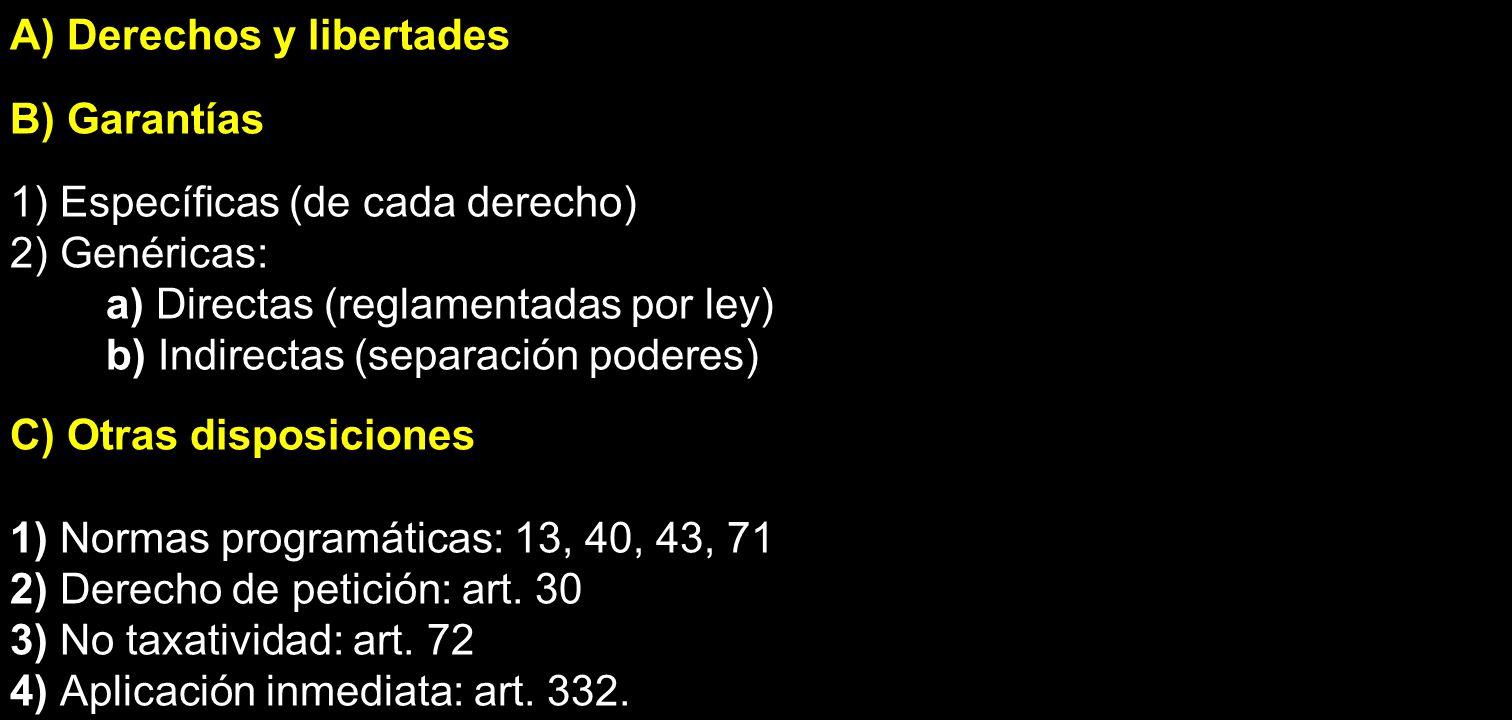 97.LIBERTAD DE INDUSTRIA Y COMERCIO El art.