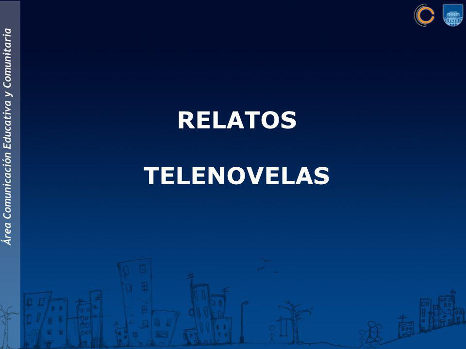 RELATOS TELENOVELAS