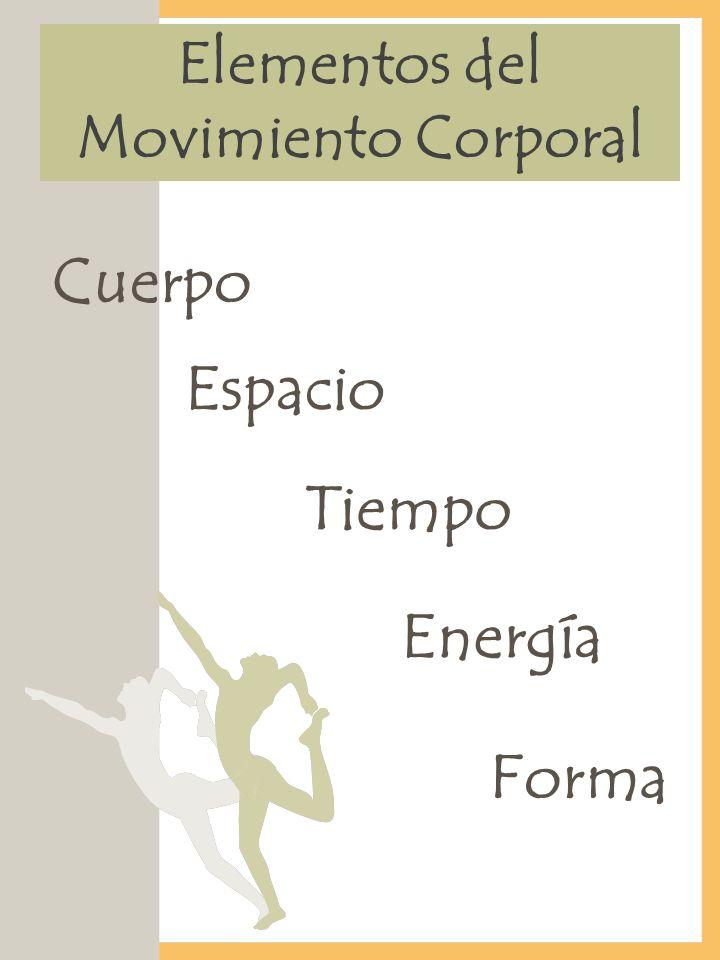 Elementos del Movimiento Corporal Cuerpo Espacio Tiempo Energía Forma